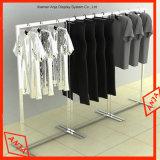La pantalla de prendas de vestir de metal con Soporte Tienda