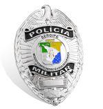 Pin таможни поставкы дешевый, значок полиций металла (GZHY-BADGE-003)