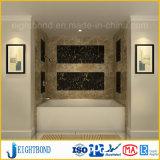 Панель сота ванной комнаты мраморный каменная алюминиевая для конструкции стены способа