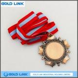 Métiers d'or de médaillon d'armée de médailles de récompense de médaille faite sur commande de souvenir