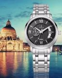 Calendrier Steel Automatic Wath Men Swiss Quality Mechanical Watch 72055
