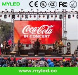 LED Stage Video Cortina tela de parede HD Stage Background LED Display Big Screen para Concerto P6.25