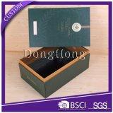 熱い販売デザインカスタム黒い円形シリンダーワインボックス