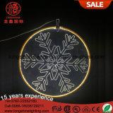 LED pendentif Custom Merry Christmas 40cm Rouge Acrylique Light pour Valentines Décoration extérieure