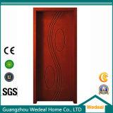 Porte intérieure de qualité/extérieure en bois de PVC/MDF pour des projets