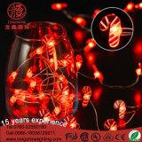 LED 3V/4.5V/6V 3AAの電池式の銅線LEDのクリスマスの照明