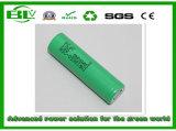 Batterie au lithium cylindrique Samsung 25r 2500mAh avec protection complète pour les motocycles électriques