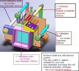 SRBP aislamiento eléctrico de película de laminado de la máquina (DP-420)