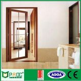 Hölzernes Korn-Aluminiumflügelfenster-Türen mit Bescheinigungen As2047