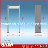 Caminhada elevada impermeável da sensibilidade através do detetor de metais com 6 zonas