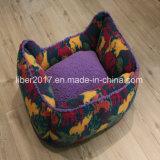 Tarnunglambskin-warmes Haustier-Zubehör-Hundebett-Sofa