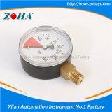 二酸化炭素の二酸化炭素のために特別な側面の放射状接続の圧力計