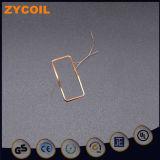 13.56Alta Frequência MHz ar retangular de antena da bobina de cobre
