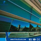 染められたフロートガラスまたは着色された反射ガラスまたは耐火性ガラス
