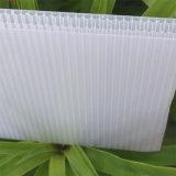 Aufbau, der modernes Haus-Bienenwabe-Polycarbonat-Blatt aufbaut