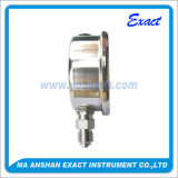 Manomètre en acier inoxydable - Manomètre à huile hydraulique - Manomètre liquide rempli