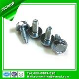 Stahlkopf-Maschinen-Gewinde-Schrauben des hexagon-M4 für Metallkoje-Betten