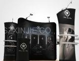 Soporte de visualización de aluminio con Sportlight, cabina portable, feria profesional
