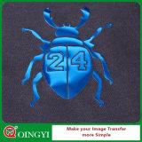 La mejor calidad de Qingyi y el mejor precio de la película metálica brillante del traspaso térmico para la materia textil