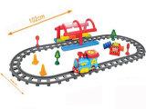 Conjunto elétrico de brinquedo com bateria com trem de trem ferroviário (H0031227)
