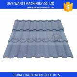 Cores personalizadas de telhas de telhadura revestidas de Milão do metal da pedra de China