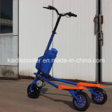Scooter de dérive de scooter de 3 roues de Trikke de mobilité électrique pliable de poulain