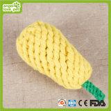 Produto da mastigação do cão da forma da pera dos brinquedos da corda do algodão