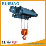 熱い販売の最もよい価格MDのタイプ電気ワイヤーロープ起重機