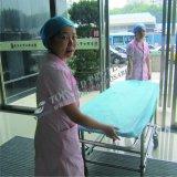 Cobertura de cama descartável médica barata certificada