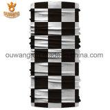 Casaco promocional de moda Cascos tubulares sem costura Bandanas multifuncionais impressas personalizadas como chapéu pirata