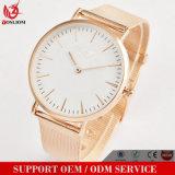 Yxl-095 Promoción de nuevo estilo reloj pulsera acero chapado en oro de OEM de diseño personalizado reloj de lujo fábrica mayorista ver