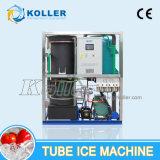 3 tonnes/jour Tube Commercial Machine à glaçons avec PLC contrôle de programme (3tonnes/jour)