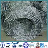 câble métallique de l'acier inoxydable 6X7