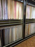 100%Polyester приглаживают ткань с цветком ротанга тюфяка для тканиь