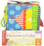Juguete del desarrollo del cubo del descubrimiento de la felpa para el bebé