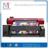 ファブリック印刷のための直接Epson Dx7の印字ヘッド1.8m/3.2mプリント幅1440dpi*1440dpiの解像度のカシミヤ織ファブリックプリンター