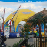 Rundes aufblasbares Pool mit Zelt-Deckel