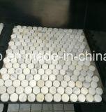 벽 훈장을%s Bianco Carrara 백색 대리석 모자이크