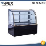 Cooler de caixa de exposição de padaria refrigerada série de mercado