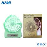 Nachladbarer Ventilator-kleiner Ventilator USB-+ Lithium-Batterie