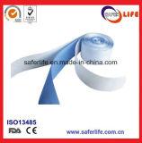 Utilização rápida e suave espuma respirável Azul de Finalização de bandagem elástica bandagem coesa gesso látex