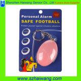 Llavero de alarma de auto defensa personal para chicas