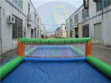Corte di pallavolo gonfiabile del gioco dell'acqua per gli adulti ed i capretti
