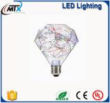 As lâmpadas LED economizadoras Star LED de filamento de lâmpada LED globo