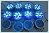 Yaye 18 PI68 18W RGB LED Luz subaquática / 18W Fonte de LED Light / Lâmpada de fonte de LED com DMX512 Controller