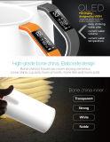 2017 Nuevos productos de Smart taza de cerámica blanca