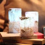 Brichの柱の結婚式および誕生日のためのFlamelessワックスの蝋燭電子LEDの蝋燭