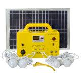 système du d'éclairage 20W à la maison solaire