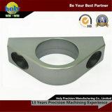 Piezas molidas CNC posteriores del bloque del cojinete de las piezas del aluminio del CNC de la aduana que trabajan a máquina