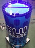 전기 배럴 냉각기 Ouside 당을%s 유리제 뚜껑을%s 가진 둥근 맥주 당 냉각기